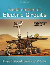 دانلود حل المسائل مبانی مدارهای الکتریکی Charles Alexander