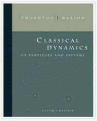 دانلود حل المسائل دینامیک کلاسیک ذرات و سیستم ها ماریون