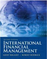 دانلود حل المسائل کتاب مدیریت مالی بین المللی Bekaert