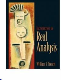 دانلود حل المسائل کتاب مقدمه ای بر آنالیز حقیقی William Trench