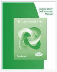 دانلود حل المسائل کتاب مثلثات ران لارسون Trigonometry