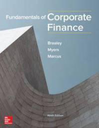 دانلود حل المسائل کتاب مدیریت مالی ریچارد بریلی Richard Brealey
