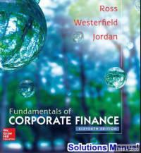 دانلود حل المسائل کتاب مبانی مدیریت مالی استفان راس Stephen Ross