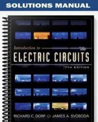 دانلود حل المسائل کتاب مدارهای الکتریکی ریچارد دورف Richard Dorf