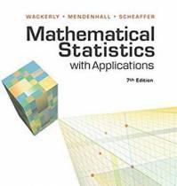 دانلود حل المسائل کتاب آمار ریاضی دنیس واکرلی Dennis Wackerly