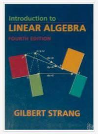 دانلود حل المسائل جبر خطی استرانگ Gilbert Strang