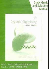 دانلود حل المسائل کتاب شیمی آلی دیوید هارت David Hart ویرایش سیزدهم
