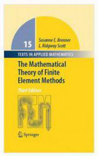 دانلود کتاب نظریه ریاضی روش های المان محدود Susanne Brenner