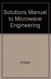 دانلود حل تمرین کتاب مهندسی مایکروویو Microwave Engineering