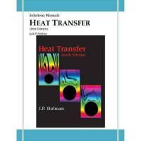 دانلود حل تمرین انتقال حرارت هولمن ویرایش دهم Holman
