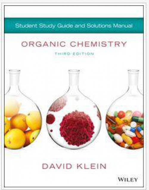 حل المسائل کتاب شیمی آلی دیوید کلین ویرایش سوم
