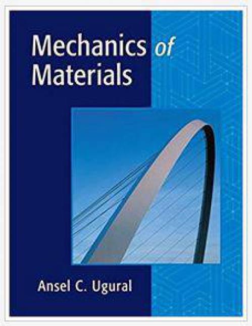 دانلود حل المسائل کتاب طراحی مکانیکی اجزای ماشین Ansel Ugural