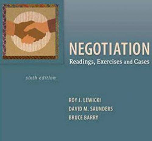 دانلود حل المسائل کتاب ضروریات مذاکره روی لوئیکی Roy Lewicki