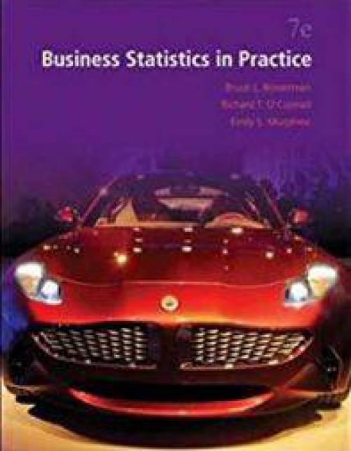 دانلود حل المسائل کتاب آمار تجاری در عمل باورمن Bruce Bowerman
