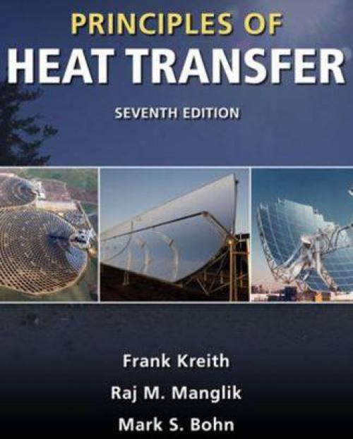 دانلود حل المسائل کتاب اصول انتقال حرارت فرانک کریس Frank Kreith