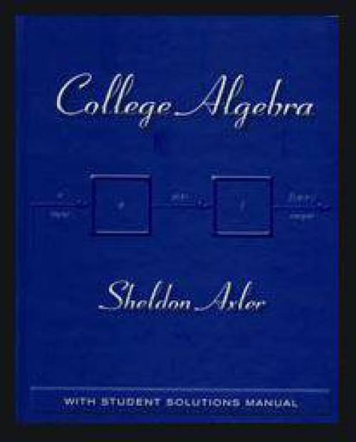 دانلود حل المسائل کتاب جبر دانشگاهی شلدون اکسلر Sheldon Axler